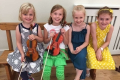 Happy mini musicians!